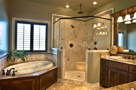 traditional master bathroom ideas bathtub tile ideas bathroom traditional with bathroom cabinet blinds chandelier