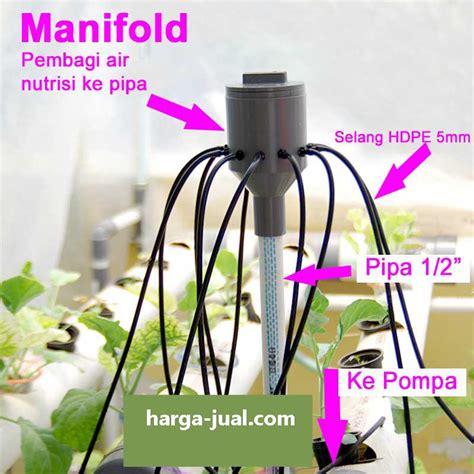 Manifold Hidroponik jual manifold hidroponik pipa air hidroponik mudah