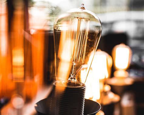 halogen bulbs  stock photo