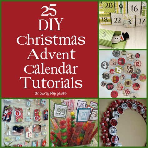 advent calendar for to make 25 diy advent calendar tutorials the crafty
