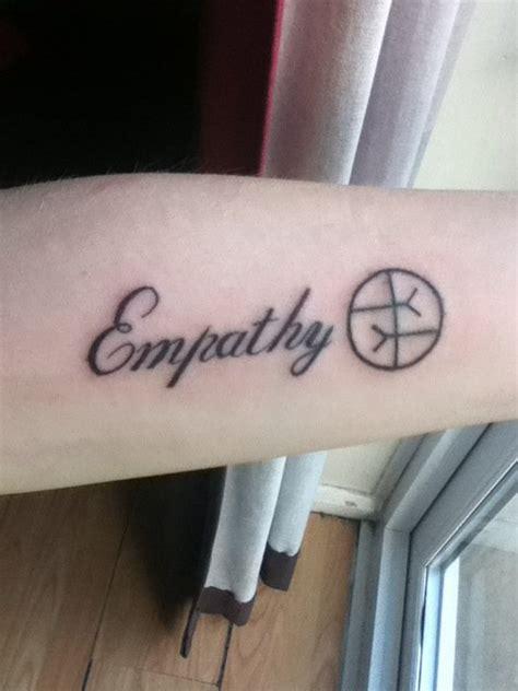 tattoo peace love empathy 9th tattoo empathy by lilmissandrea89 on deviantart
