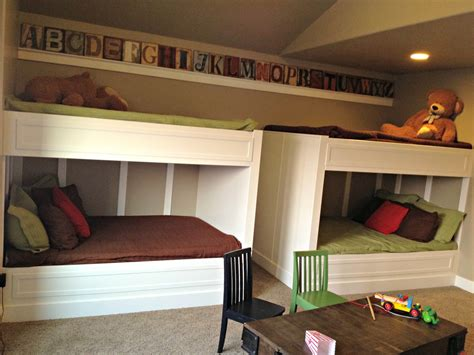 Love Of Homes Decorated Quot Boy Quot Bedrooms Parade Of Homes How To Make Built In Bunk Beds
