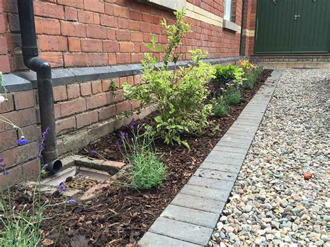garden planting ideas uk flower bed design planting in shrewsbury front garden