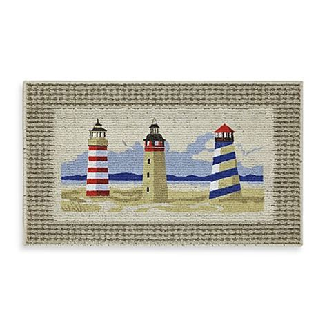 Lighthouse Bathroom Rugs Buy Mohawk Home Lighthouse Berber Rug From Bed Bath Beyond