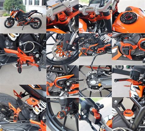 Sparepart Ktm Duke 200 cnc aluminum motorcycle spare parts for ktm duke 200 view