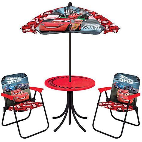 Disney Cars Table by Disney Cars 4 Patio Set Walmart