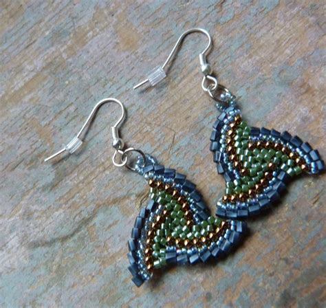 free earring patterns seed free seed bead earring patterns just about be an
