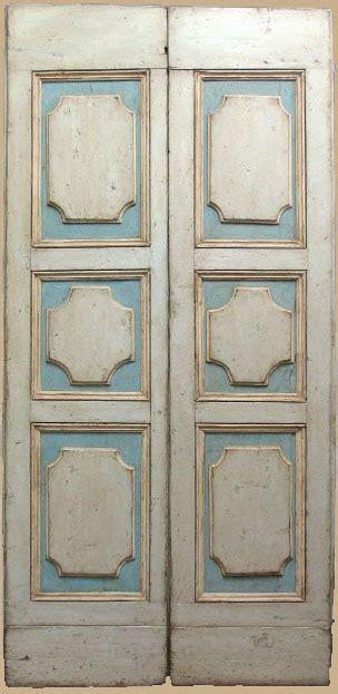 porte antiche laccate porta antica laccata a formelle di inizio 700 porte