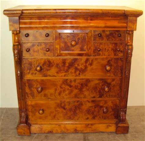 Australian Pine Furniture by Huon Pine Nine Drawer Colonial Australian Huon Pine