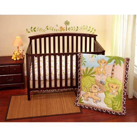 disney baby king simba 3 crib bedding set