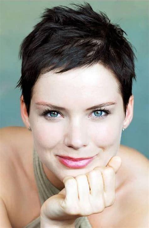 unique impression super short hairstyles  women