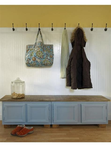 diy mudroom bench 15 diy entryway bench projects decorating your small space