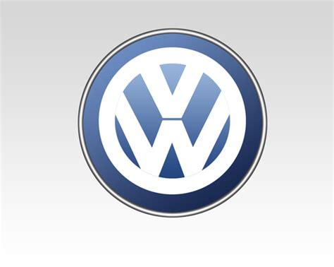 tutorial logo volkswagen learn to create volkswagen logo premium psd