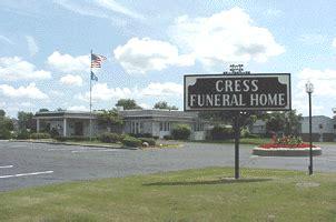 cress funeral cremation service sun prairie wi