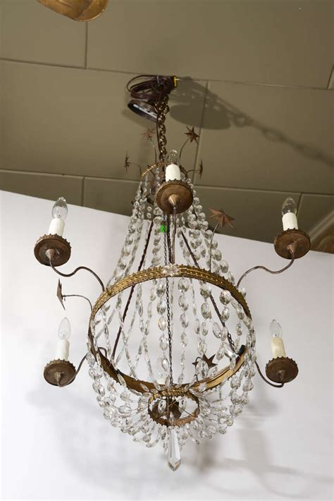 tole chandelier italian tole and chandelier for sale at 1stdibs