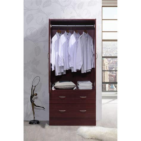 White Freestanding Wardrobe - armoire dresser free standing closet white wardrobe large