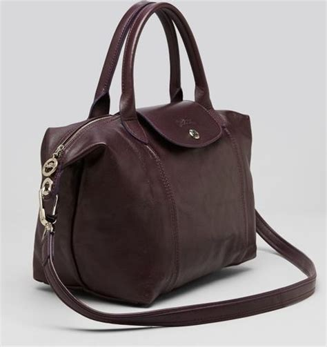 Longch Cuir Small 3 longch shoulder bag le pliage leather cuir small in brown camel
