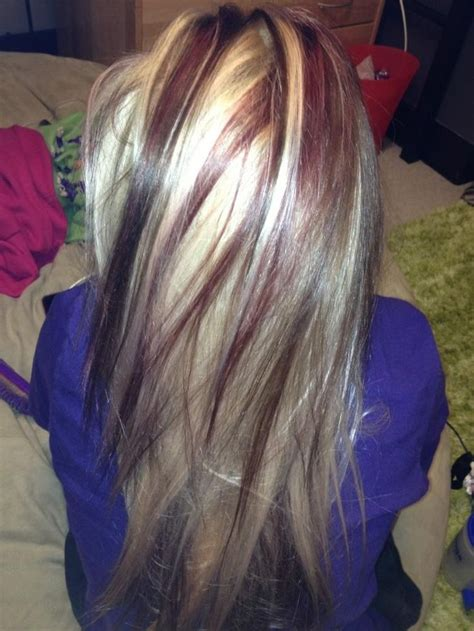 chunky blonde top dark under 17 best images about chunky highlights on pinterest