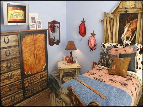 rustic themed bedroom western theme bedroom decor