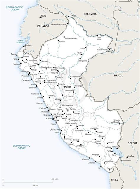 peru political map vector map of peru political one stop map