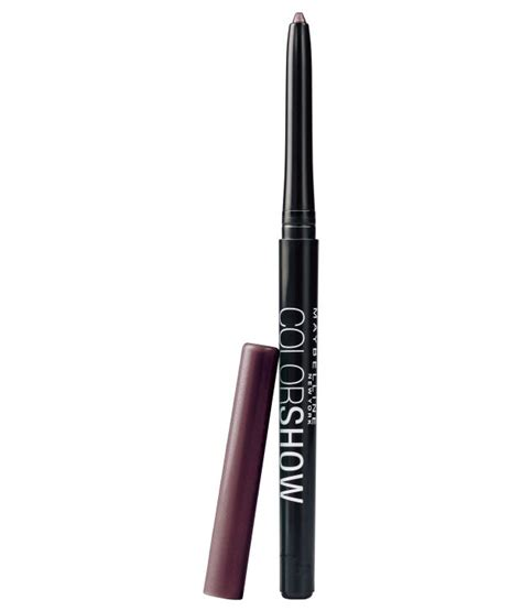 Eyeliner 2 Colour Kuas maybelline color show noble purple eyeliner 0 3 gm buy maybelline color show noble purple