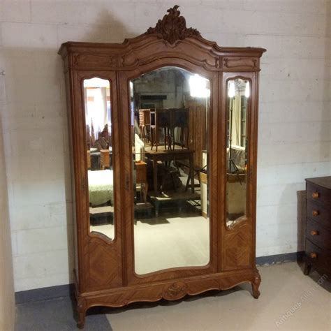 hanging armoire rare full hanging depth armoire wardrobe antiques atlas