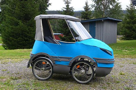 Bicycle Car On Indiegogo Solves Issue Of Biking In Or