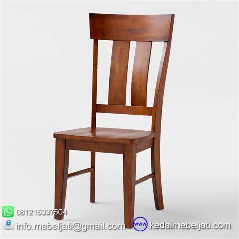 Kursi Makan Jati kursi makan jati minimalis highback dari kedai mebel jati