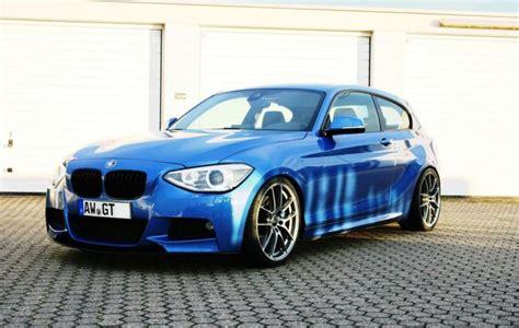 Bmw 1er F21 Wiki by Bmw 1er F21 In Blue On Oz Racing Alloy Wheels Leggera