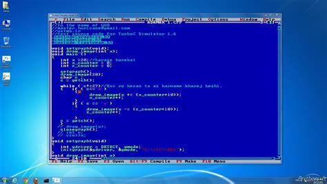 turbo c for windows 8 7 81 vista 32 bit 64 bits download free turboc simulator turboc simulator 1 6 5