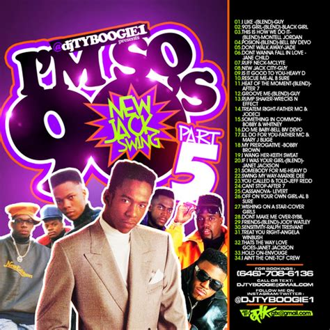 new jack swing mixtape djtyboogie1 im so 90 s pt5 new jack swing era mixtape
