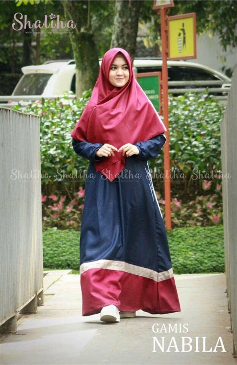 Tunik Maryam Navy jual trend fashion dress fashion i nona
