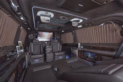 mercedes benz upholstery mercedes benz viano fitted with luxurious custom interior