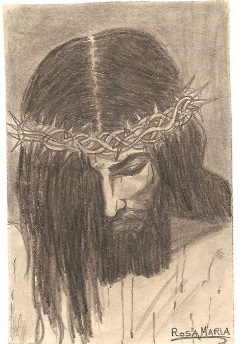 imagenes a lapiz del rostro de jesus dibujos a l 225 piz de cristo dibujos a lapiz