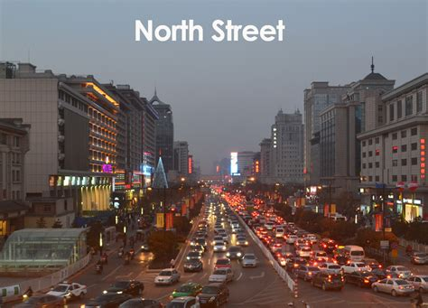 city of city centre of xian china xian bell tower travel and