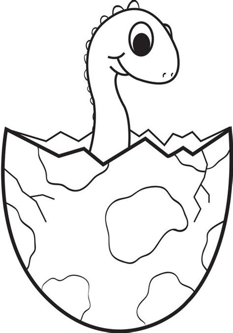 free dinosaur coloring pages preschool free printable cartoon baby dinosaur coloring page for kids