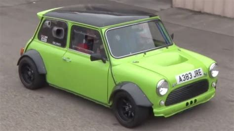 Mini Cooper Hayabusa by Check Out This S Mini Cooper With A Hayabusa Engine