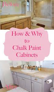 Can You Paint Kitchen Cabinets With Chalk Paint by How Why To Chalk Paint Your Bathroom Or Kitchen Cabinets
