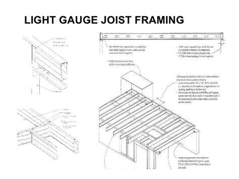 light gauge steel framing light gauge steel
