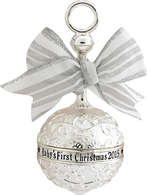 2015 baby s first christmas ornament carlton heirloom