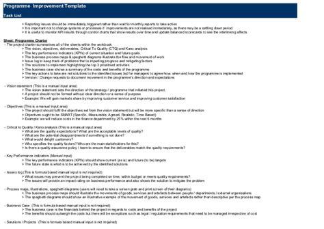 Optimise Gb S Lean Six Sigma S Dmaic Dmadv Programme Dmadv Template