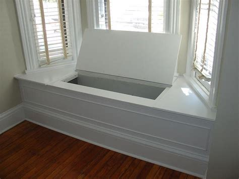 window benches with storage bay window bench seat plans ip lawyer pinterest