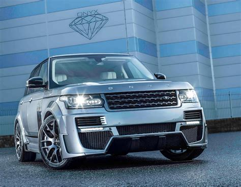 onyx range rover onyx concept unveils its two new range rover aspen editions