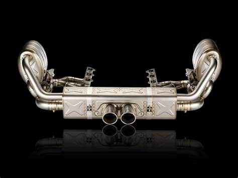 Akrapovic Evolution exhaust system for Porsche 911 GT3/RS