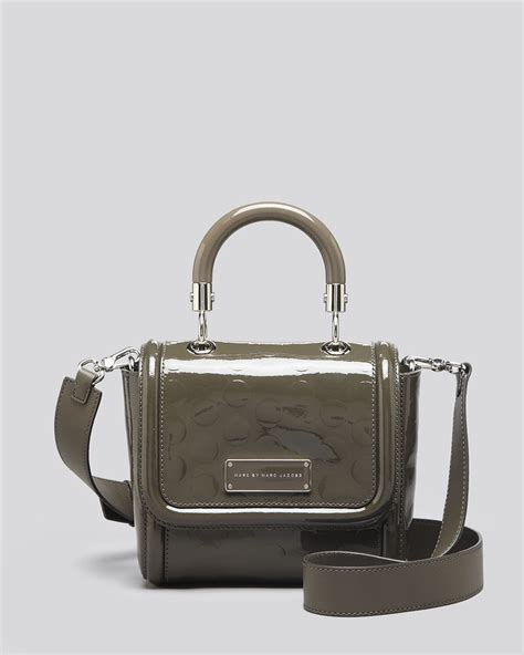 Marc By Marc Patent Pouchette by Marc By Marc Crossbody To Handle Embossed