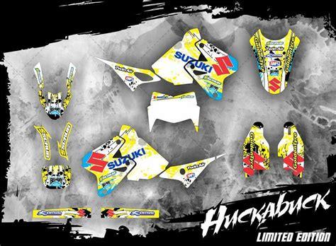 drz 400 dekor suzuki drz dekor im design huckabuck le mx kingz
