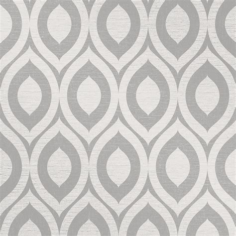 black and white wallpaper pattern for room crown rimini grey wallpaper m1160