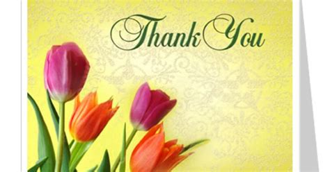 Thank You Card Publisher Template