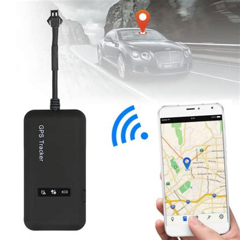 mini realtime gps car tracker locator gprs gsm tracking