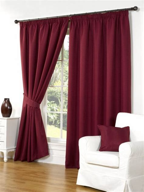 red pleated curtains buy willow ready made curtains pair 66 x 72 red colour